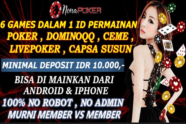 Situs Judi Poker Online Terbaik di Indonesia Nonapoker